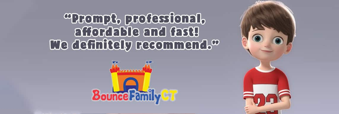 Bounce House Family CT testimonial