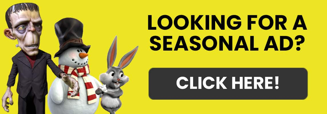 Seasonal Party Rental Ads