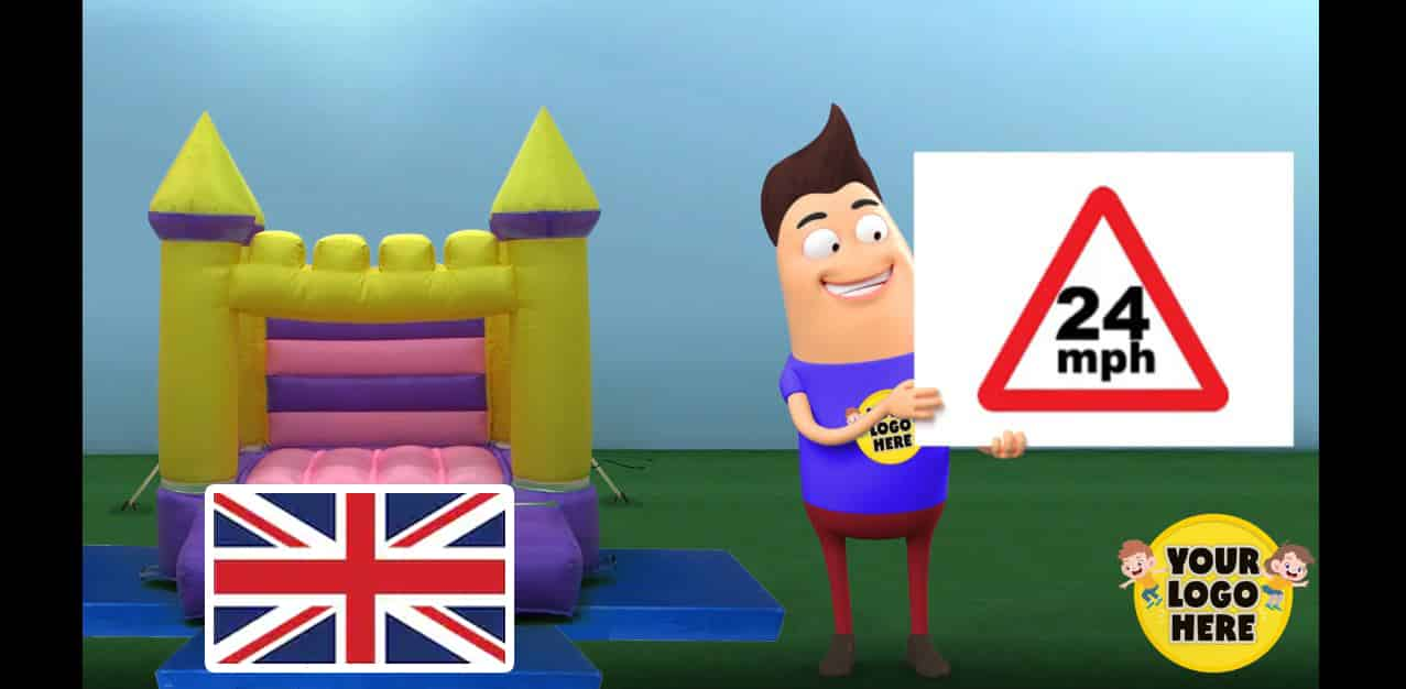UK and Ireland Version of the Inflatable Safety Video